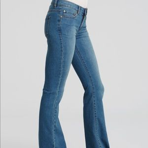 Free People Low Rise Flare Jeans
